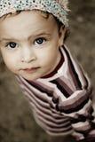 Occhi innocenti Fotografia Stock