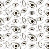 Occhi modellati pazzi royalty illustrazione gratis
