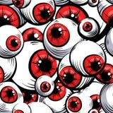 Occhi rossi Reticolo senza giunte Fotografia Stock