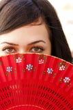Occhi spagnoli immagine stock