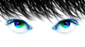 Occhi spettrali Immagine Stock