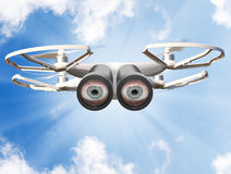 Occhi sul cielo Fotografie Stock