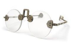Occhiali antichi Fotografie Stock