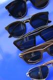 Occhiali da sole alla moda moderni Fotografia Stock