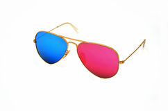 occhiali da sole 3d Immagini Stock