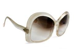 Occhiali da sole dell'annata da 60-70s Fotografia Stock