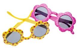 Occhiali da sole di formato del bambino di estate Fotografie Stock Libere da Diritti