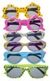 Occhiali da sole di formato del bambino di estate Fotografia Stock