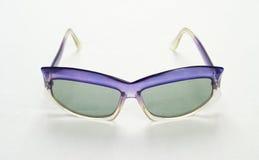 Occhiali da sole lilla Fotografia Stock