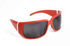 Occhiali da sole rossi Fotografie Stock