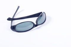 Occhiali da sole su bianco Fotografia Stock Libera da Diritti