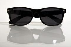 Occhiali da sole neri Fotografie Stock Libere da Diritti