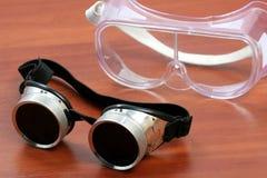 Occhiali di protezione fotografia stock