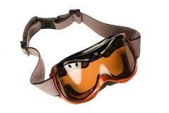 Occhiali di protezione del pattino Fotografia Stock Libera da Diritti