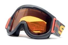 Occhiali di protezione del pattino Fotografie Stock