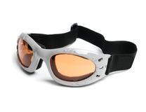 Occhiali di protezione del pattino Immagini Stock