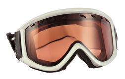 Occhiali di protezione del pattino Immagine Stock