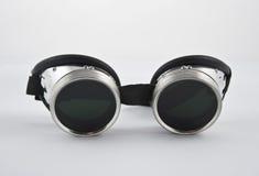 Occhiali di protezione della saldatura immagine stock