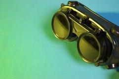 Occhiali di protezione della saldatura Immagine Stock Libera da Diritti