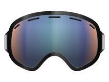 Occhiali di protezione dello sci illustrazione di stock