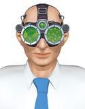 Occhiali di protezione di affari Immagine Stock