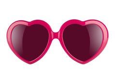 Occhiali di protezione di amore Immagine Stock Libera da Diritti