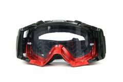 Occhiali di protezione di Moto fotografia stock