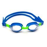 Occhiali di protezione di nuotata fotografie stock libere da diritti