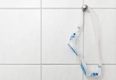 Occhiali di protezione di nuoto per addestramento Immagini Stock Libere da Diritti