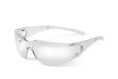 Occhiali di protezione di plastica Fotografie Stock