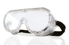 Occhiali di protezione di sicurezza Immagini Stock Libere da Diritti