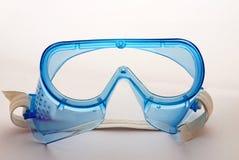 Occhiali di protezione di sicurezza chimica Fotografie Stock Libere da Diritti