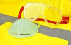 Occhiali di protezione industriali Immagine Stock
