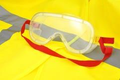 Occhiali di protezione industriali Fotografia Stock Libera da Diritti