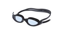 Occhiali di protezione isolati su bianco Fotografie Stock