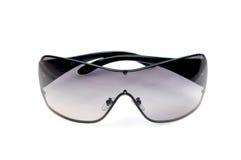 Occhiali di protezione neri Immagini Stock Libere da Diritti