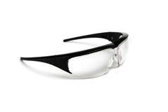 Occhiali di protezione neri Fotografia Stock