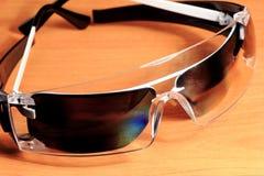 Occhiali di protezione, occhiali di protezione Fotografie Stock