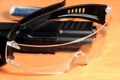 Occhiali di protezione, occhiali di protezione Immagini Stock