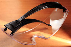 Occhiali di protezione, occhiali di protezione Fotografia Stock Libera da Diritti