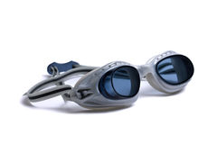Occhiali di protezione per nuoto Fotografie Stock