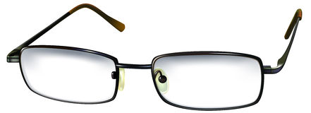 Occhiali di vetro Immagine Stock Libera da Diritti
