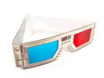 occhiali di vetro 3d Fotografia Stock