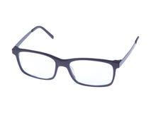 Occhiali moderni di modo su fondo bianco Fotografia Stock Libera da Diritti