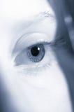 Occhio all'indicatore luminoso Fotografia Stock Libera da Diritti