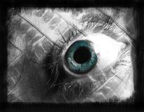 Occhio astratto delle donne Fotografie Stock