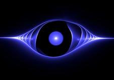 Occhio azzurro illustrazione vettoriale