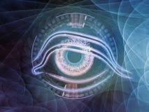 Occhio centrale Immagine Stock