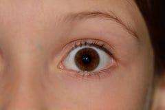 Occhio del bambino Fotografie Stock Libere da Diritti