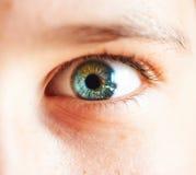 Occhio del bambino del primo piano Fotografia Stock Libera da Diritti
